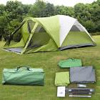 6 Person 2 Room Waterproof Camping Tent Double Layer Family