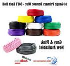 6 Rolls Audiopipe 50' Feet 14 Gauge AWG Primary Remote Wire