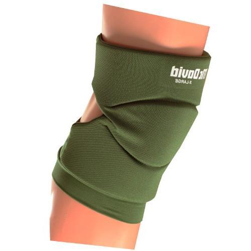 McDavid 643R Deluxe Knee Elbow Pad Dark Green Large