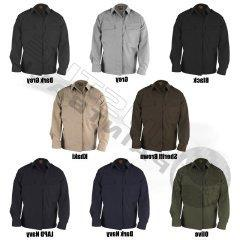 PROPPER F545238 Adult's L/S 65P/35C Battle Rip BDU Shirt