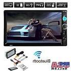 7''HD Bluetooth Touch Screen Car Stereo Radio 2DIN FM/MP5/
