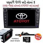 """8""""2Din GPS Stereo Car dvd player for TOYOTA COROLLA 2007"""
