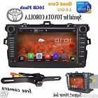 8'' Android6.0 Car Stereo DVD Player Radio GPS For Toyota