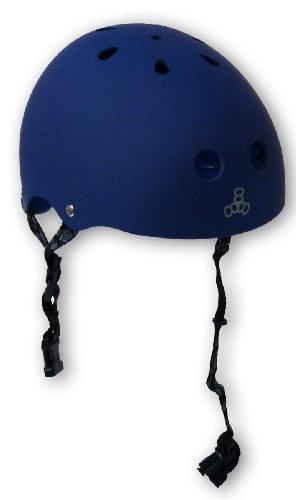 Triple Eight Helmet with Sweat Saver Liner, Royal Blue