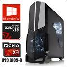8-Core Gaming Computer Desktop PC Tower 1TB SSD / HD 4.2GHz
