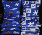 8 Cornhole Bean Bags made w Seattle SEAHAWKS Fabric ACA Reg