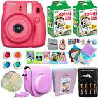 FujiFilm Instax Mini 8 Camera RASPBERRY + Accessories KIT