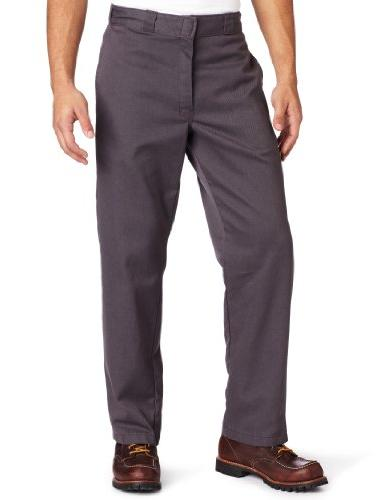 Dickies Men's Original 874 Washed Work Pant, Steel Gray,