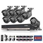 ANNKE 8CH 1080N AHD DVR 2000TVL Home Surveillance CCTV