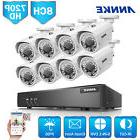 ANNKE 8CH 1080N 5in1 HD DVR 720P IP66 Outdoor Cameras Home