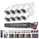 ANNKE 1080P 8CH HD P2P DVR 2MP In/Outdoor TVI Camera Home