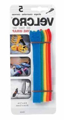 """Velcro 90438CS """"Get-A-Grip"""" Strip 5/8"""" - Cd/5"""