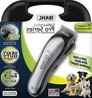 NEW Wahl 9766 Cordless Lithium Ion Pro Series Pet Dog