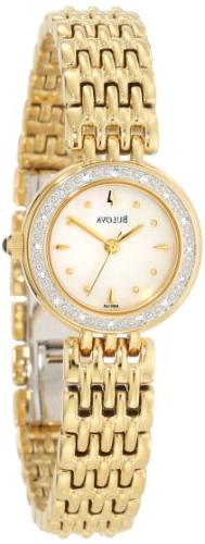 Bulova Women's 98R148 Diamond Petite Classic Watch