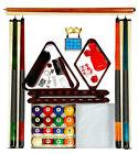 Billiard - Pool Table Accessory Kit W Traditional Style Ball