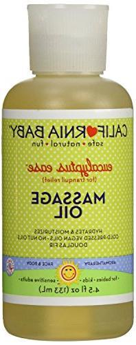 California Baby - Aromatherapy Massage Oil Eucalyptus Ease