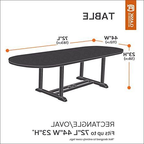 Terrazzo Patio Table Cover, Table, Elastic