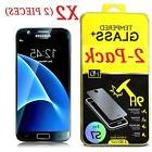 For Samsung Galaxy S7 Screen Protector Tempered Glass HD