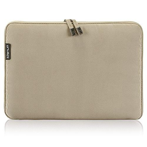 Runetz - 13-inch BROWN Soft Sleeve Case for NEWEST MacBook