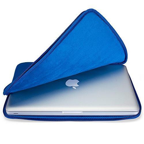 Runetz - NAVY BLUE Soft Sleeve Case Cover for Newest MacBook