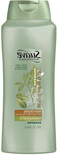 Suave Shampoo, Moisturizing, Almond + Shea Butter, 28 fz