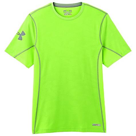 Under Armour Men's Heatgear Sonic Fitted Printed SS T Shirt