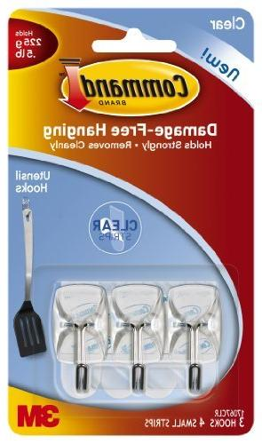 Wholesale CASE of 25 - 3M Command Clear Adhesive Utensil