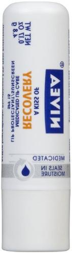 Nivea A Kiss of Recovery Medicated Lip Care SPF 15 -- 0.17
