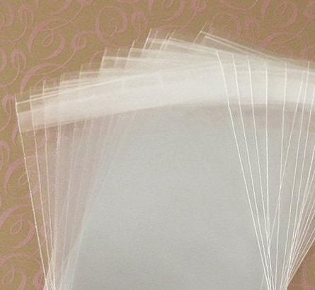 Mycraftsupplies 5 1/2 X 8 1/8 Inch Resealable Clear Cello