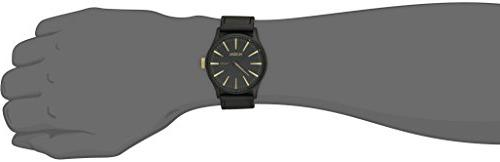 Nixon Men's A1051041 Sentry Leather Watch