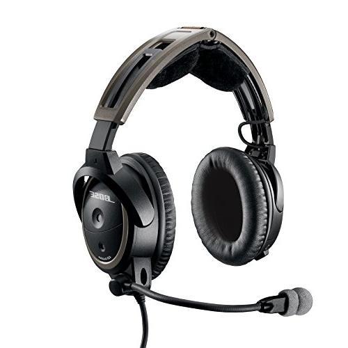 Bose A20 Aviation Headset with Bluetooth U-174 Plug Cable,
