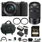 Sony a5100 Interchangeable Lens Camera w/ 16-50mm & 55-210mm