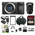 Sony a6300 Mirrorless Digital Camera w/ 18-105mm OSS Lens & Accessory Kit