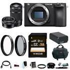 Sony a6500 Mirrorless Camera w/ 55-210mm Lens + 32GB SDHC