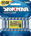 Rayovac - Aaa Batteries  - Silver/blue