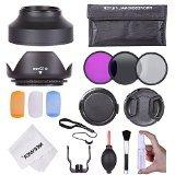 Neewer 52MM Professional Accessory Kit for NIKON D7100 D7000