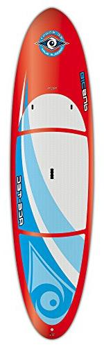 BIC Sport ACE-TEC Performer Stand up Paddleboard, Gloss Red/