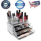 Acrylic Makeup Organizer Cosmetic Case Jewelry Holder Clear
