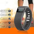 Activity Fitness Tracker Smart Watch Band Wireless Bluetooth