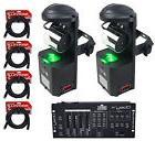 American DJ ADJ Inno Pocket Roll Mirror Scanner Lights+DMX