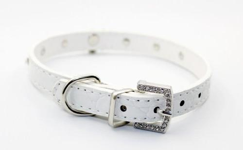Namsan Adjustable Small Puppy Dog Pet Doggie Cats Leather
