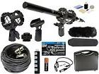 Professional Advanced Broadcast Microphone and accessories Kit for NIKON DSLR