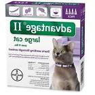 Advantage II for Cats over 9 lbs 4pk - 4 Month Supply