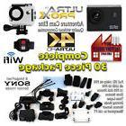 Adventure Cam Elite 4K UHD Waterproof Action Camera w/Remote
