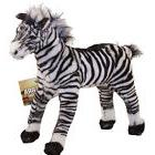 Adventure Planet Plush - STANDING ZEBRA  - New Stuffed