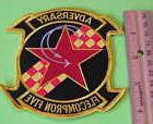 ADVERSARY FLECOMPRON FIVE  US NAVY MILITARY PATCH NEW FREE