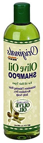 Africas Best Org Olive Oil Shampoo 12oz