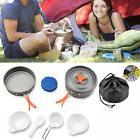 AGPTEK®Camping Cookware Kit Backpacking Gear Hiking Cook