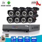 ANRAN 8 Channel 720P AHD DVR Kit 1800TVL CCTV Camera Video Surveillance System