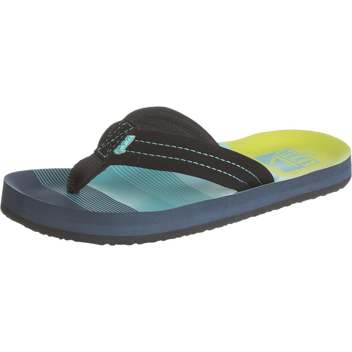 Reef Ahi Sandal - Boys' Aqua/Green, 11.0/12.0